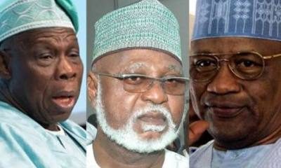 Why IBB, Obasanjo, Abdulsalami Abubakar are conspiring against Buhari – Lawmaker