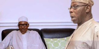 Just In: Aisha reacts to Obasanjo's statement, calls Buhari a loser