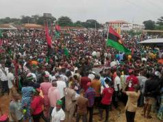 Biafrans gathered in Owerri
