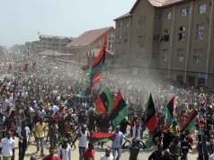 Rejoice my people! Biafra is emerging