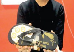 Student invents shoe for women to electrocute their attackers