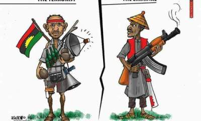 Who is a terrorist, IPOB or Boko Haram?