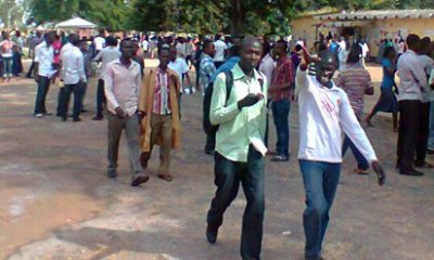 Anambra Elections: Students stage walk for peaceful, credible poll