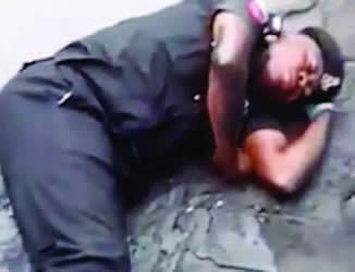 Video of drunken policeman goes viral