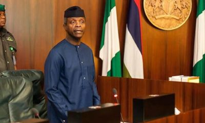 Osinbajo says Nigeria is proud of the entertainment industry