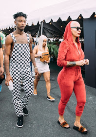 Blac Chyna, Amber Rose, 21 Savage Come Out To Play