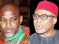 Breaking: Court orders, Senator Abaribe, others to explain Kanu's whereabouts