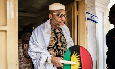 Nnamdi Kanu Insists Elections May Not Hold On Saturday, Says He Is Coming Back To Nigeria 'In Power And Glory'