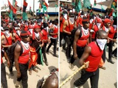 Biafra: IPOB members make a stunning return in Aba
