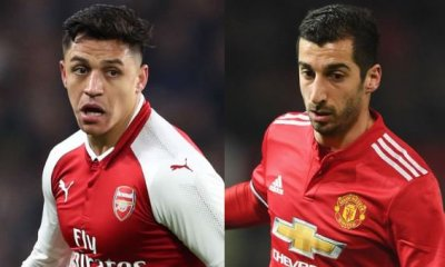 Football: Manchester United, Arsenal complete Mkhitaryan-Alexis Sanchez swap