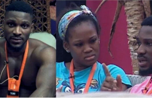 BBNaija 2019: Nigerians mock Cee-c as Tobi dumps her