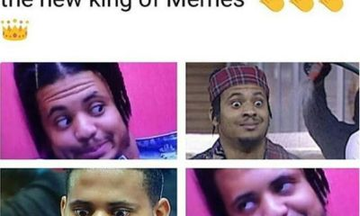 BBNaija 2018: Rico Swavey is fast becoming the new king of memes (see photo)