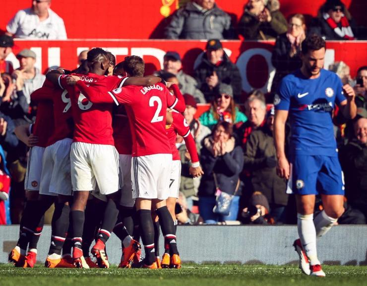EPL: Manchester United reclaim second place after 2-1 win against Chelsea