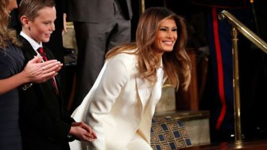 Melania 'refuse' to stand as audience gave ovation to Donald Trump's 'faith and family' remarks