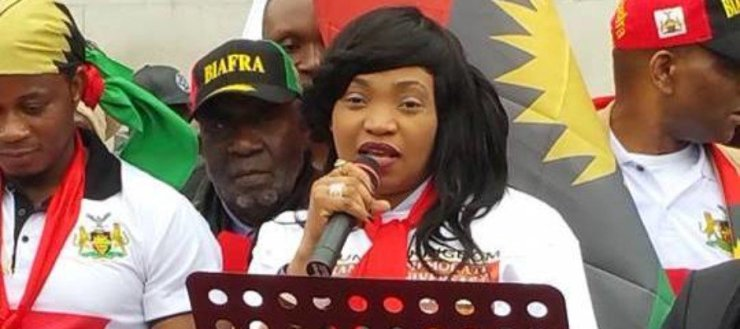 Biafra Update: Why Ojukwu failed – Nnamdi Kanu's wife, Uchechi reveals