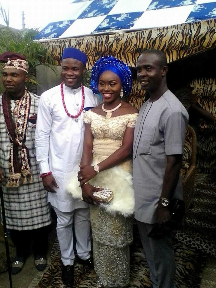 Nigerian ex-Catholic priest weds in Akwa Ibom (Photos)