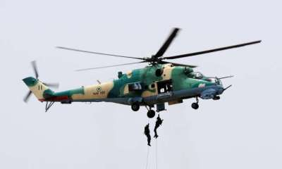 Breaking News: Nigerian Air Force aircraft crashes in Kaduna