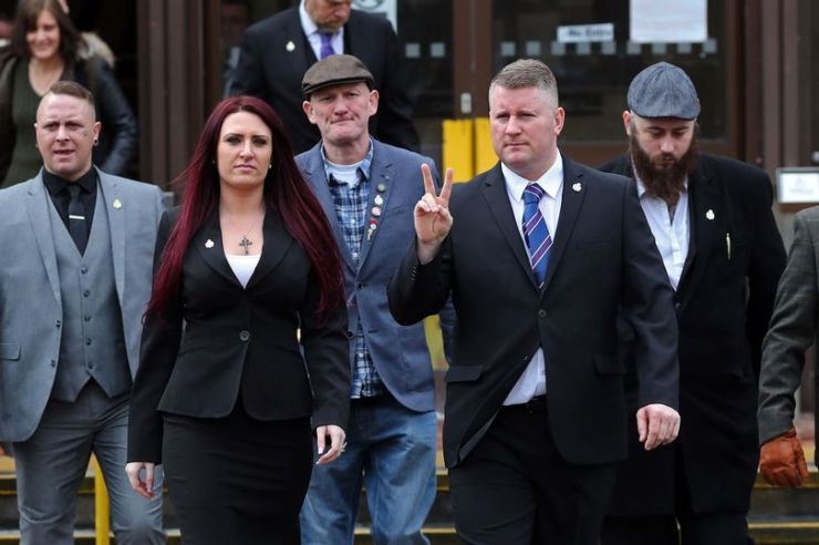 first leader, Britain First leader and deputy are jailed for hate crime