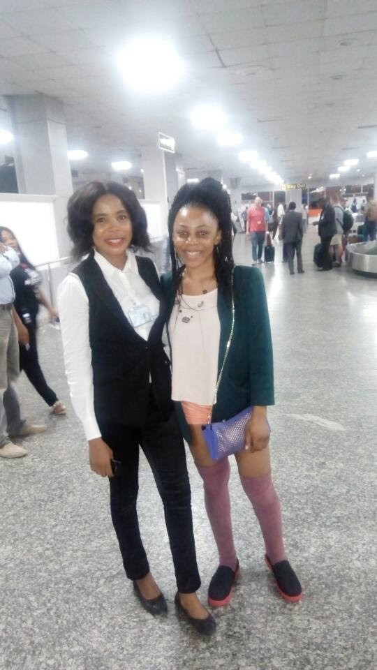 BBNaija 2018: Big Brother Housemates Ifu and Leo arrived Nigeria - See Photos