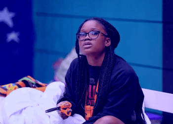 BBNaija 2018: Cee-c threatens to go naked, 'swear for her landlord'