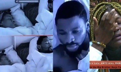 BBNaija 2018: Alex flies off her bed screaming during Nightmare, Tobi prays for her