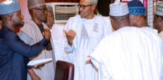 Breaking: All APC governors dump Oyegun for Buhari over Tenure extension