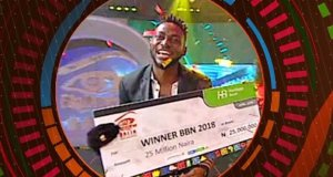 Miracle Winner of Big Brother Naija 2018 Double Wahala with a clean sweep