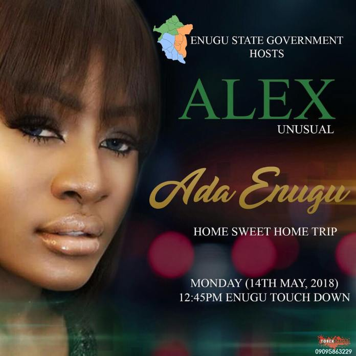 BBnaija: Watch moments Alex was received in Enugu - Videos