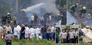 Cuba plane crash: More than 100 dead and three women fighting for their lives after Boeing 737 crashes near