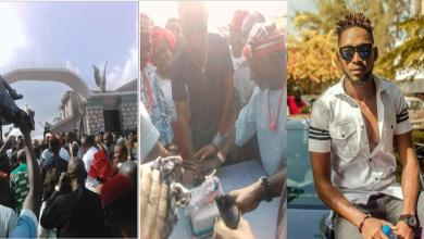 BBNaija Update: See what happened the moment Miracle was honoured in his village - Video