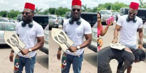 Big Brother Naija star, Tobi Bakre appears to be having a swell time in Enugu State. The Second runner-up of the just concluded BBNaija reality game show ha