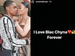 YBN Almighty Jay declares his undying love for Blac Chyna