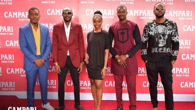 2Baba, Harrysong, Tobi, Teddy-A, BamBam Linda Osifo & others storm the launch of Campari 'Make It Red'