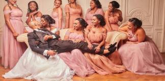 See the controversial wedding photo that got people talking