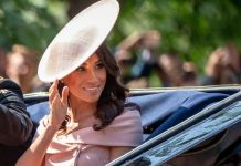 Meghan Markle is pretty in pink with new curly hairstyle at Trooping the Colour