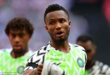 Nigeria vs Argentina: Rohr breaks silence over Mikel Obi hand fractured