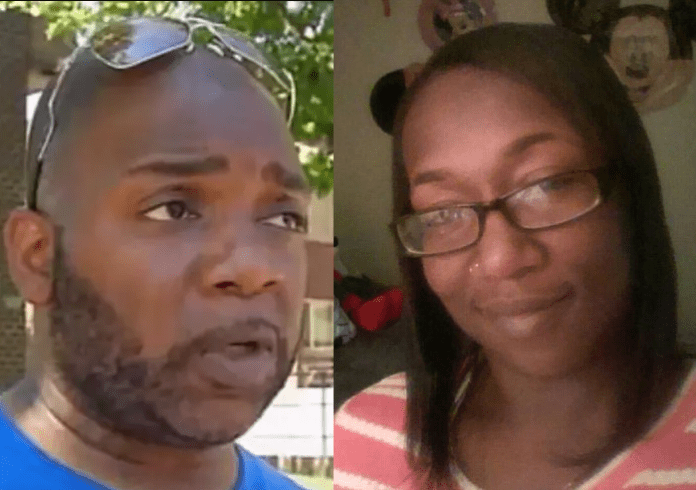 Husband finds his cheating wife and her mechanic lover' dead in their garage while having se3x (Photos)