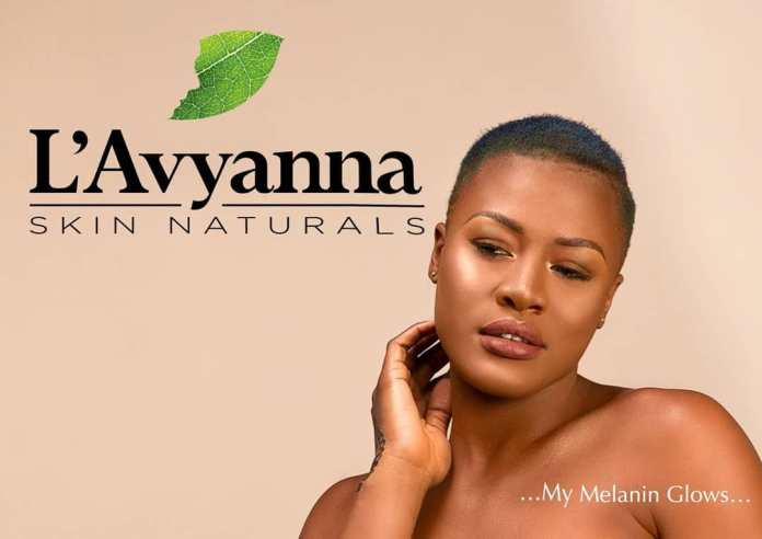 Alex looks sensational on Melanin body lotion campaign (Photos)