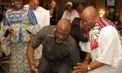 Photo of the Day: Dino Melaye dancing after his defection from APC to PDP