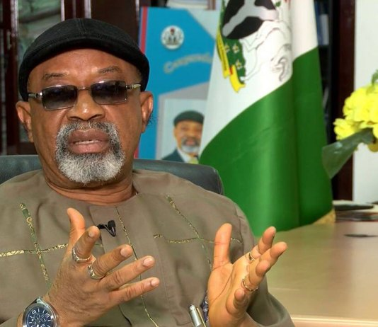 EKITI: 'You must bring back Fayose on Saturday - Ngige said at APC Rally (Watch Video)