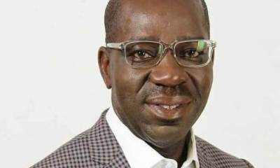Breaking: Obaseki joins PDP as massive crowd turn out at declaration