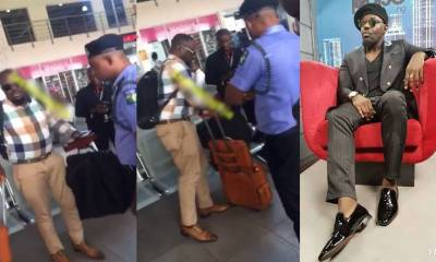 Jim Iyke breaks silence after being arrested at airport for slapping Dana Air staff
