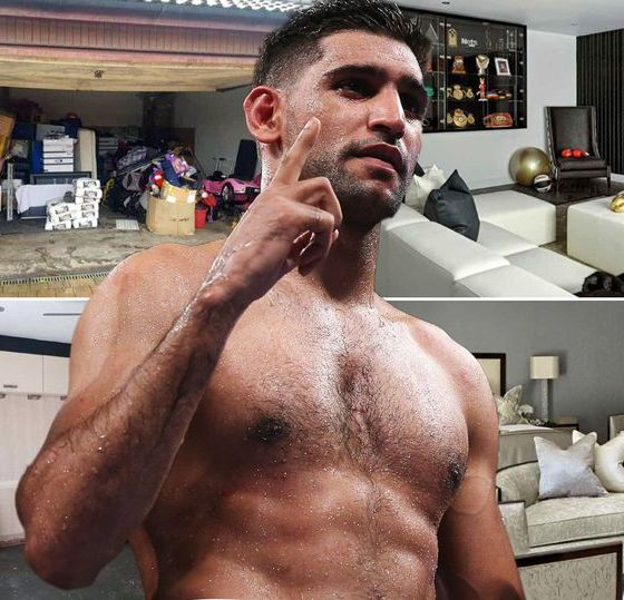 Inside Amir Khan's stunning new home after swapping £1.2m mansion for bungalow
