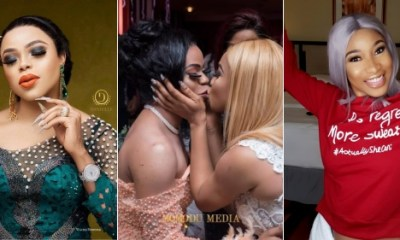 """I can't wait for God to use you in a special way"" – Tonto Dikeh's birthday message to Bobrisky"