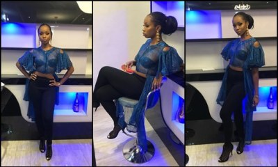 BBnaija BamBam rocks a see-through outfit - See Photos