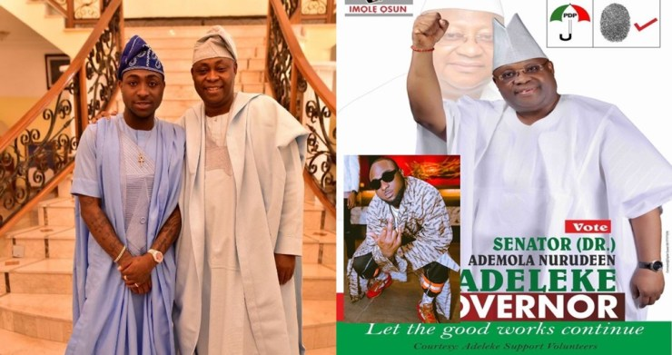 EFCC freezes seven different bank accounts of the Adeleke family including Davido and his father