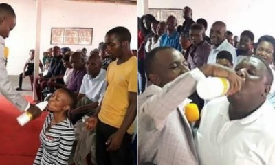 Pastor who gave members JIK bleach to drink, says 'they were drinking the blood of Jesus'
