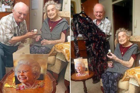 See 100-year-old bride set to marry her toyboy lover 26 years younger than her