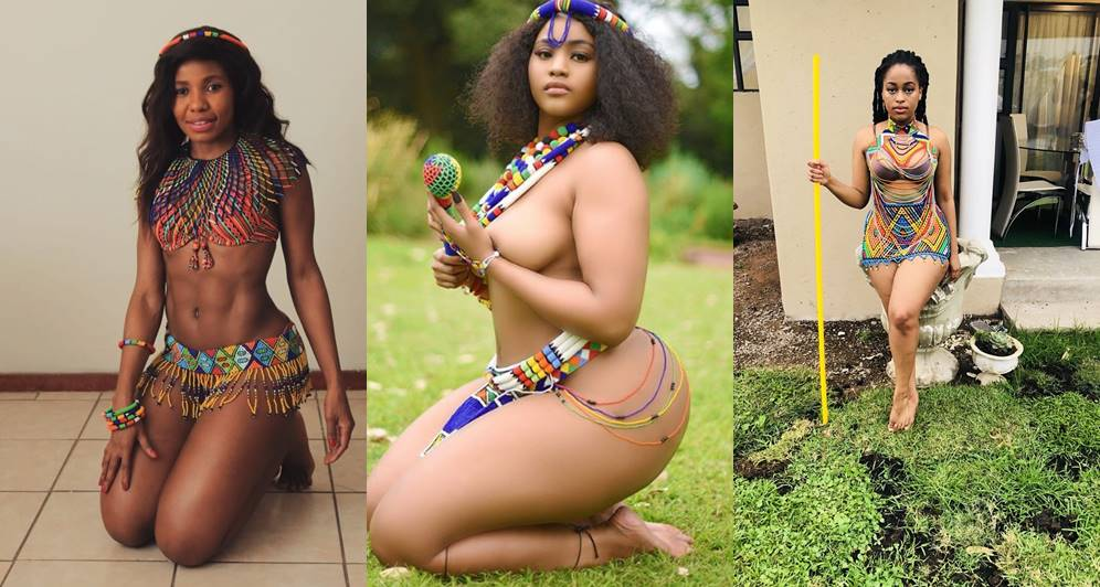 South African ladies show off their boobs, curves and stunning beauty as they celebrate Heritage Day (Photos)