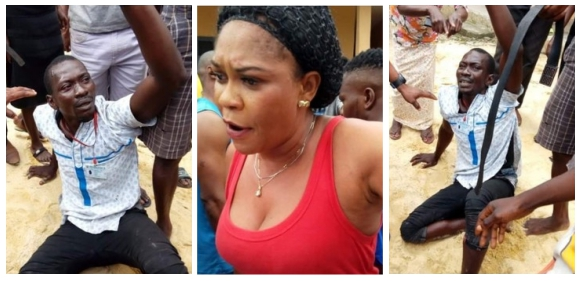 Thief caught caressing sleeping woman after breaking into her home to steal her phone (photos)